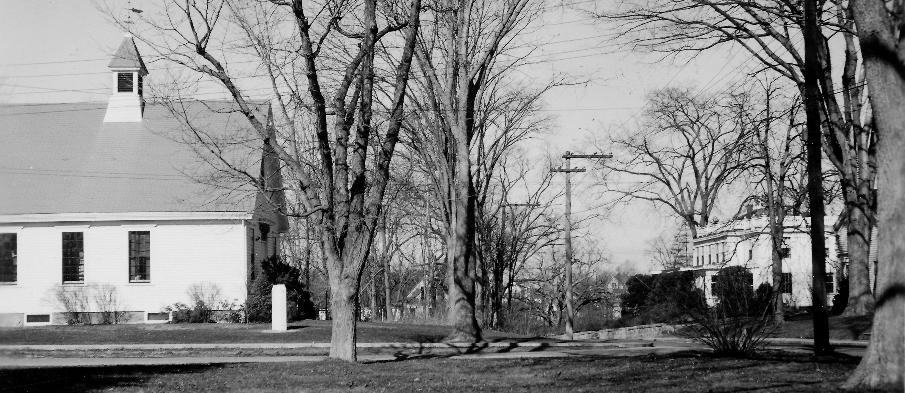 Ashaway Free Library historic photo